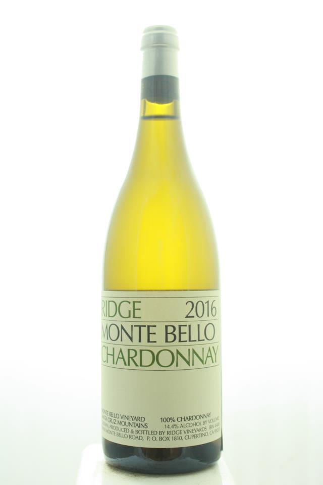 Ridge Vineyards Chardonnay Monte Bello Estate Vineyard 2016