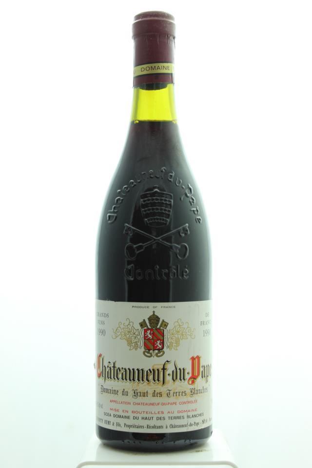 Haut des Terres Blanches Châteauneuf-du-Pape 1990