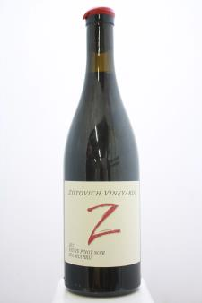 Zotovich Family Vineyard Pinot Noir 2017