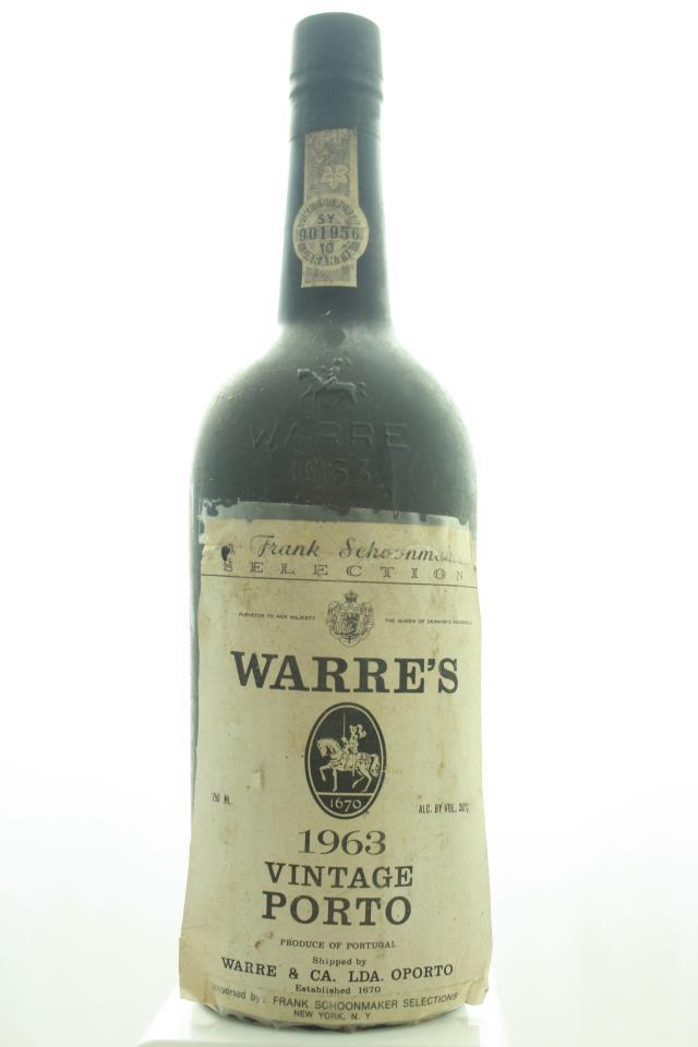 Warre's Port 1963