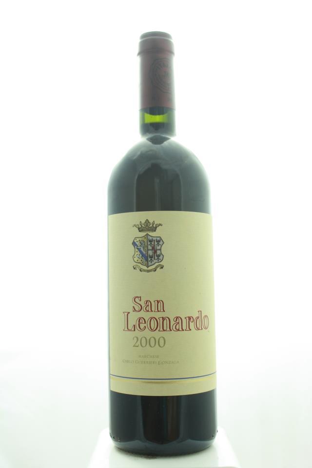 Carlo Guerrieri Gonzaga Tenuta San Leonardo Vigneti Delle Dolomiti San Leonardo 2000