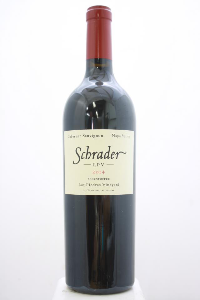 Schrader Cabernet Sauvignon Beckstoffer Las Piedras Vineyard LPV 2014