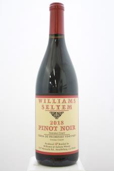 Williams Selyem Pinot Noir Terra de Promissio Vineyard 2018
