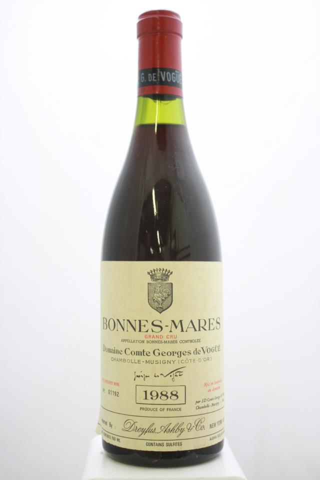 Comte Georges de Vogüé Bonnes-Mares 1988