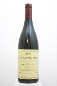 Alain Burguet Gevrey-Chambertin Mes Favorites Vieilles Vignes 1999