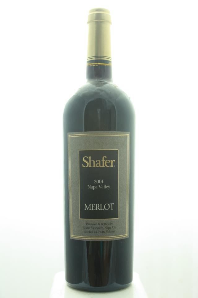 Shafer Merlot Napa Valley 2001
