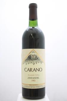 Carano Zinfandel Alexander Valley 1982