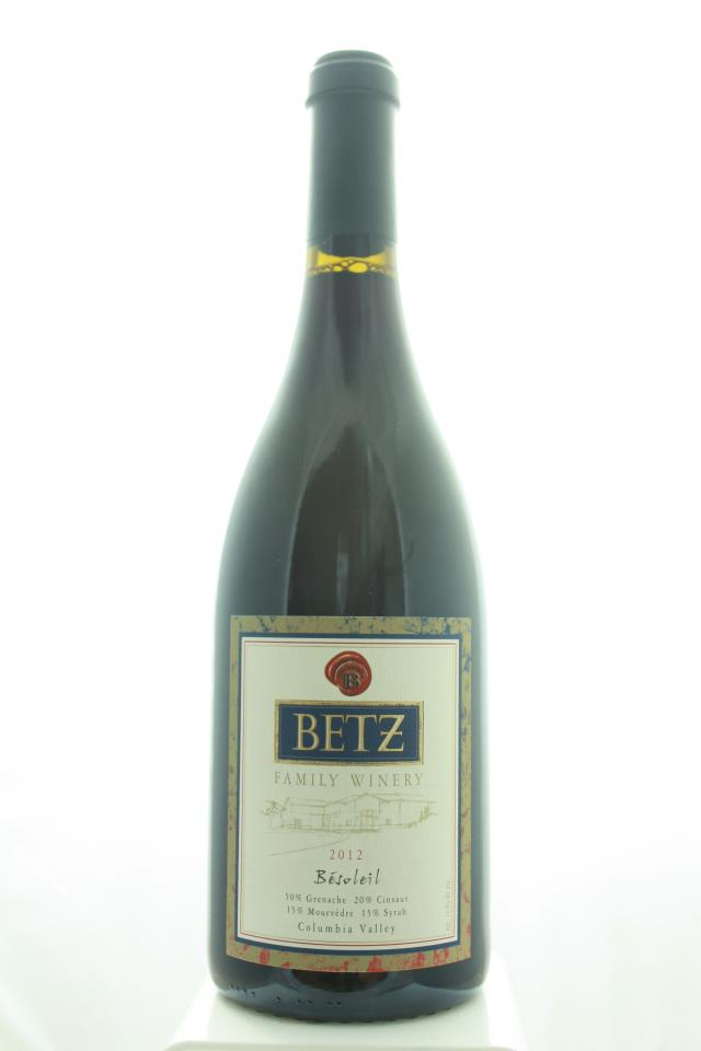 Betz Family Winery Proprietary Red Besoleil 2012