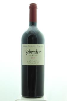 Schrader Cabernet Sauvignon Beckstoffer To Kalon Vineyard T6 2010
