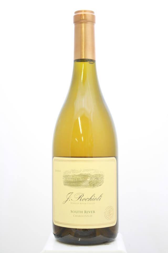 J. Rochioli Chardonnay Estate South River Vineyard 2011