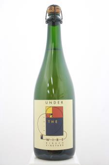 Under The Wire Sparkling Pinot Noir Hirsch Vineyard 2014