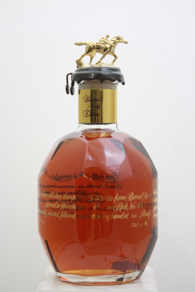 Blanton's Original Single Barrel Bourbon Whisky Gold Edition NV