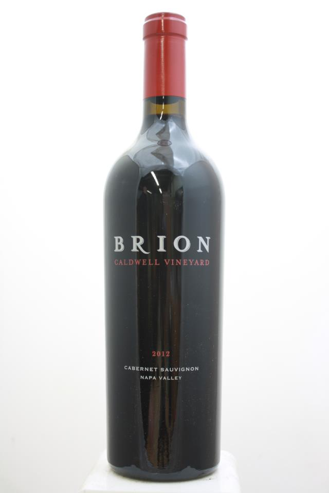 B. Wise Cabernet Sauvignon Caldwell Vineyard Brion 2012