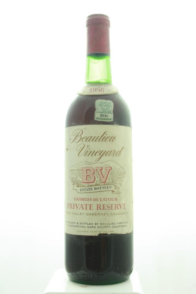 BV Cabernet Sauvignon Georges de Latour Private Reserve 1956