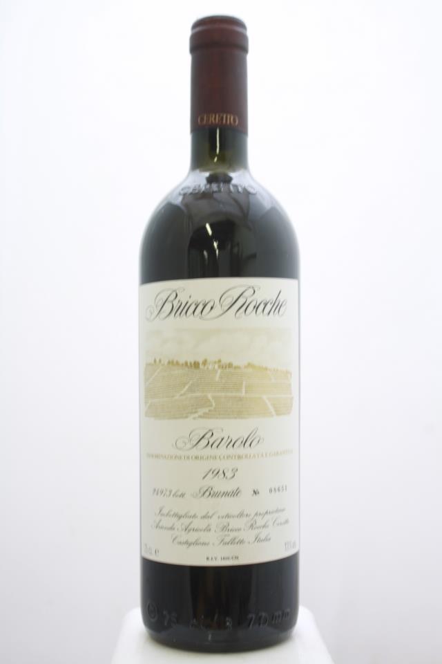 Ceretto Barolo Bricco Rocche Brunate 1983