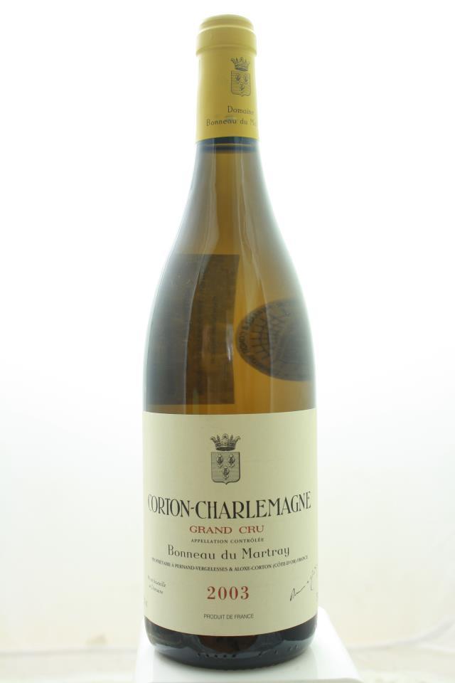 Bonneau du Martray Corton-Charlemagne 2003