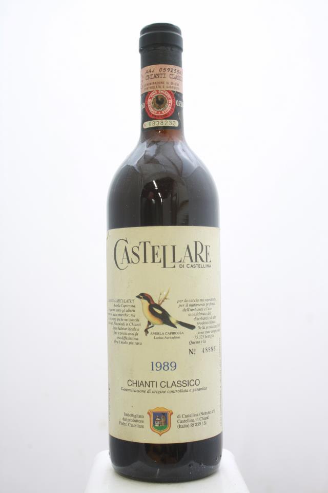 Castellare di Castellina Chianti Classico 1989