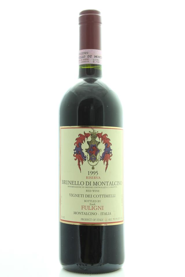 Fuligni Brunello di Montalcino Riserva Vigneti dei Cottimelli 1995