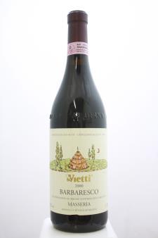 Vietti Barbaresco Masseria 2000