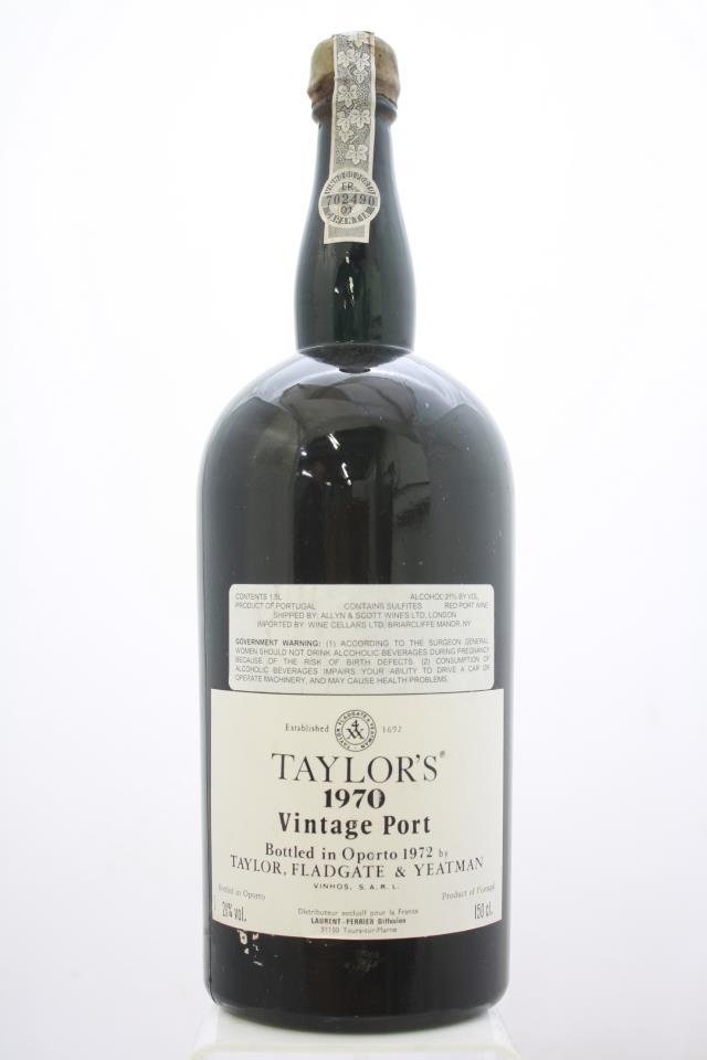 Taylor Vintage Port 1970