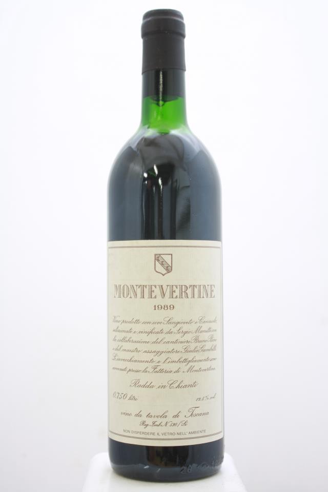 Montevertine Montevertine Rosso 1989