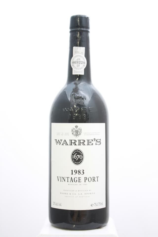 Warre's Vintage Port 1983