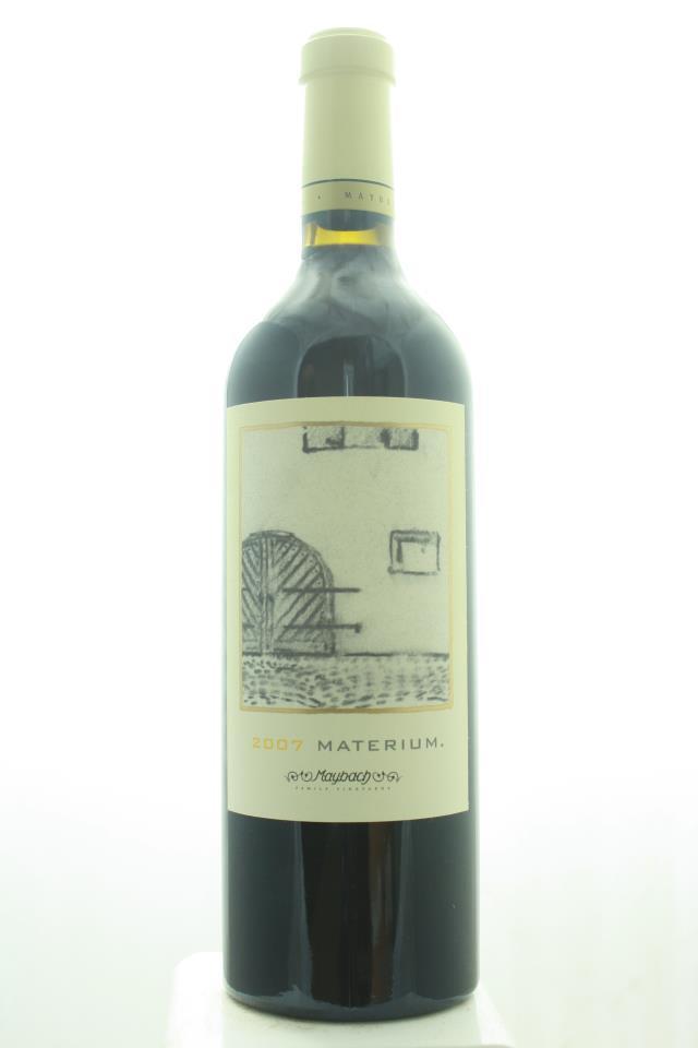 Maybach Cabernet Sauvignon Weitz Vineyard Materium 2007