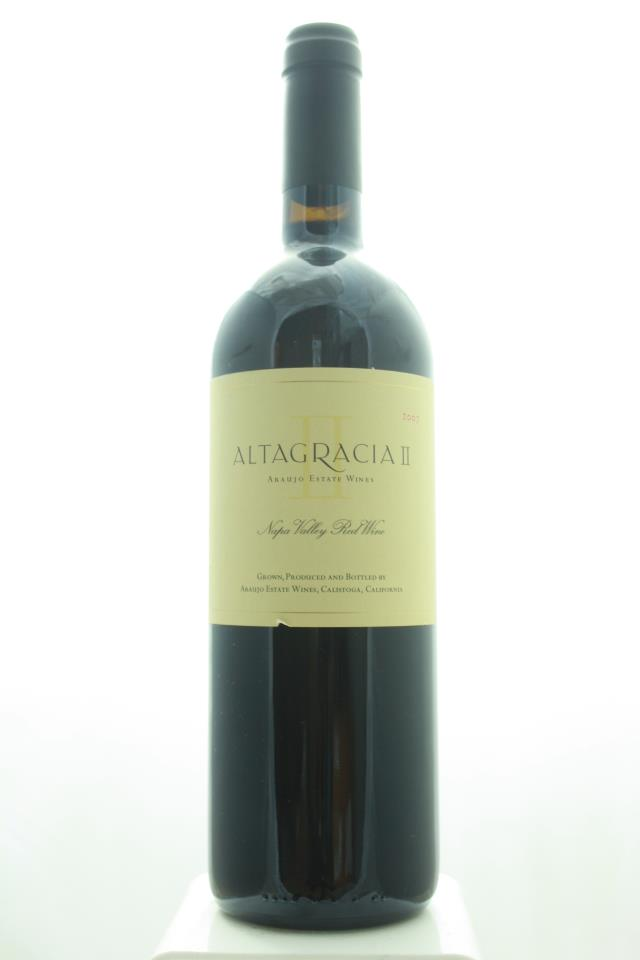 Araujo Estate Proprietary Red Altagracia II 2007