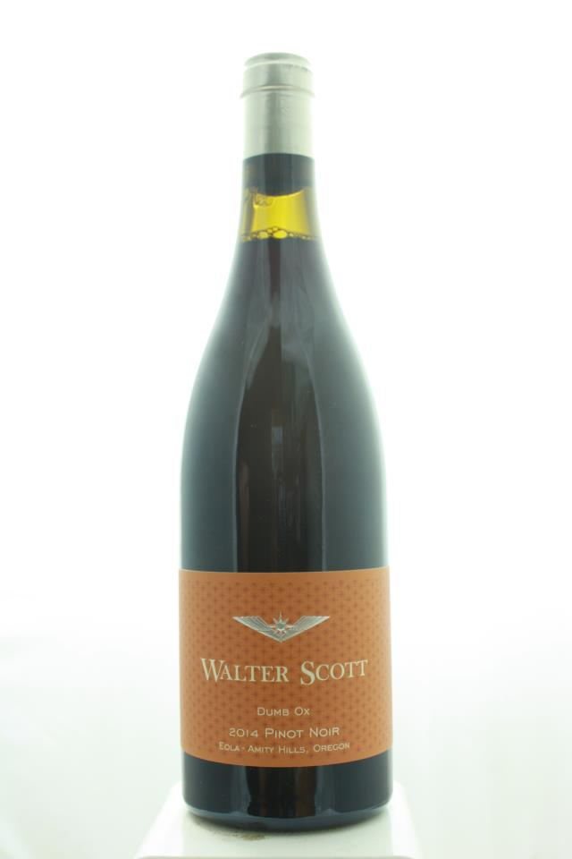 Walter Scott Pinot Noir Dumb Ox 2014