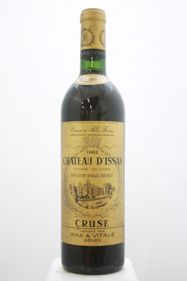 Chateau d'Issan Cruse 1962