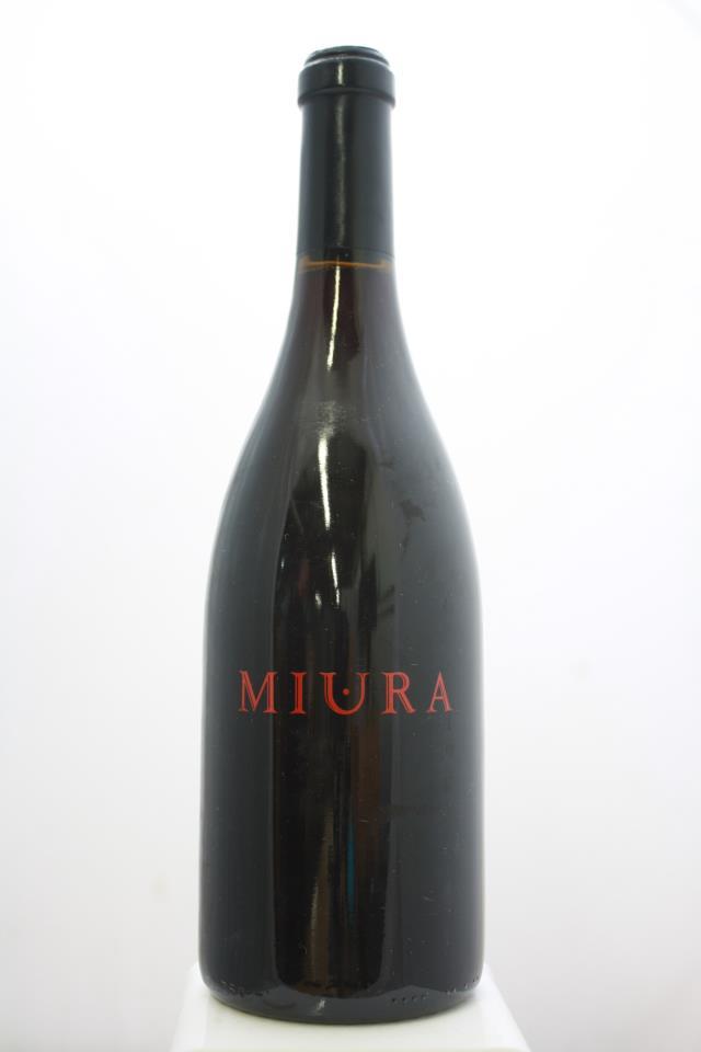 Miura Vineyards Pinot Noir Pisoni Vineyard 2008