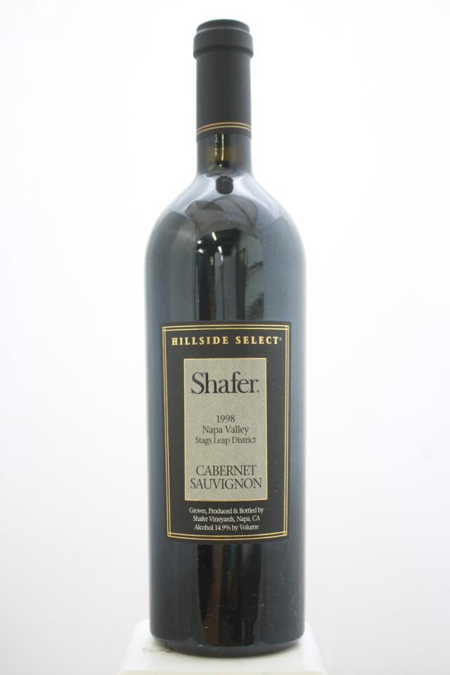 Shafer Cabernet Sauvignon Hillside Select 1998