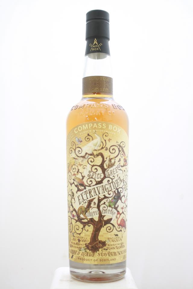 Compass Box Whisky Company Blended Malt Scotch Whisky Scotch Whisky Limited Edition Spice Tree Extravaganza NV