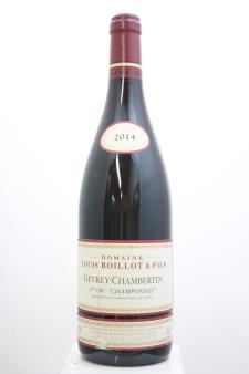 Lucien Boillot Gevrey-Chambertin Champonnet 2014