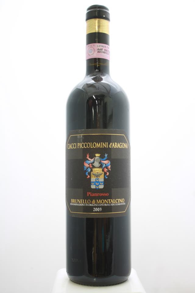 Ciacci Piccolomini d`Aragona Brunello di Montalcino Pianrosso 2003