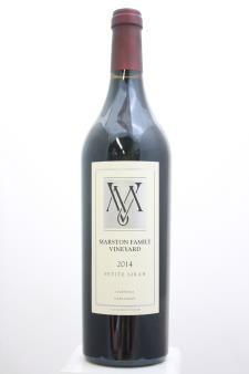 Marston Family Vineyard Petite Sirah 2014