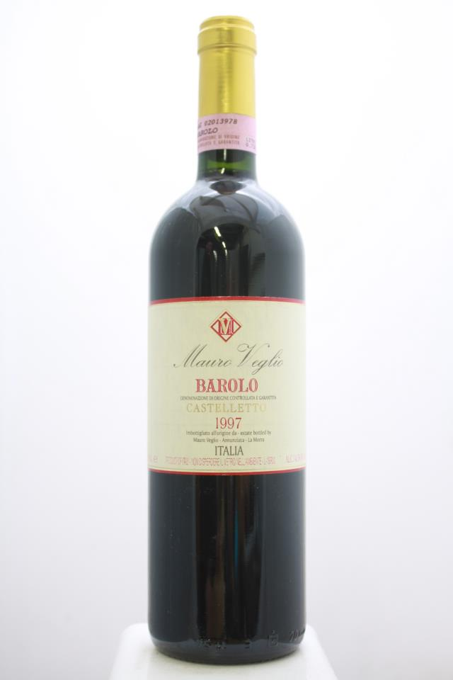 Mauro Veglio Barolo Castelletto 1997