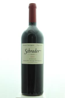 Schrader Cabernet Sauvignon Beckstoffer Georges III Vineyard GIII 2007