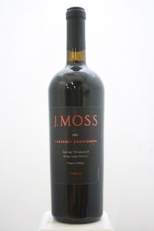 J. Moss Creek Cabernet Sauvignon Spicer Vineyard 2002