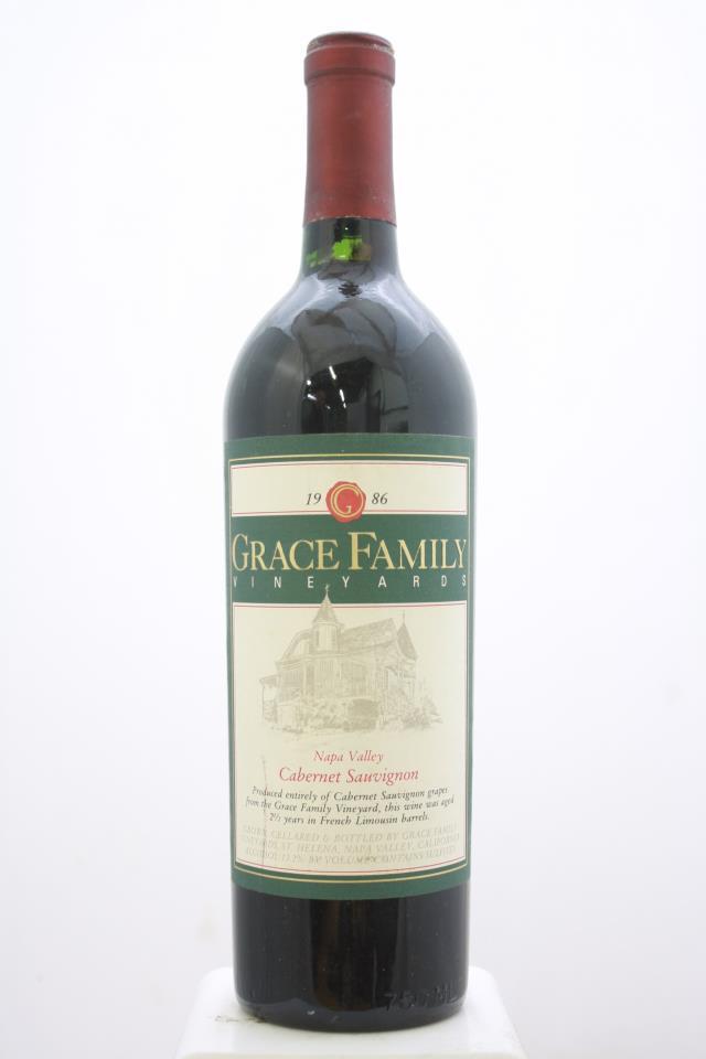Grace Family Cabernet Sauvignon 1986