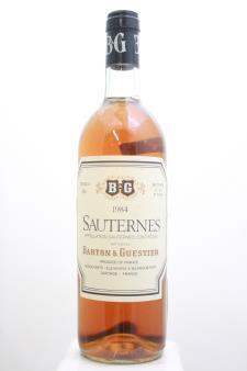 Barton & Guestier Sauternes 1984