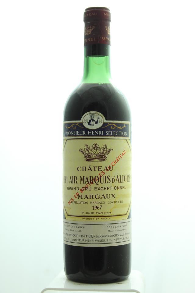 Bel Air Marquis d'Aligre 1967