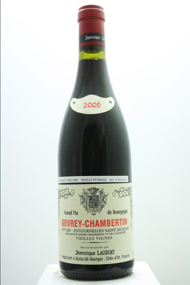 Dominique Laurent Gevrey-Chambertin Estournelles St. Jacques Vielles Vignes 2006
