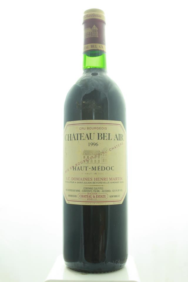 Bel Air Haut-Médoc 1996