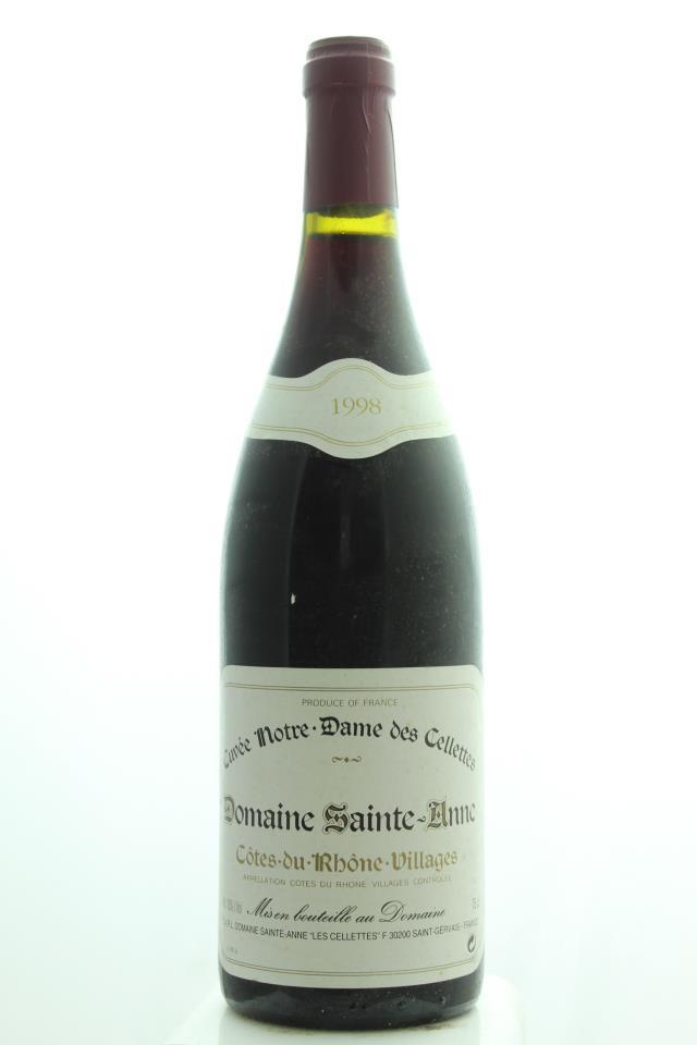 Sainte-Anne Côtes du Rhône Villages Cuvée Notre Dame des Cellettes 1998