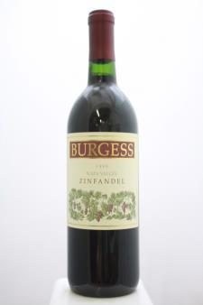 Burgess Zinfandel 1998