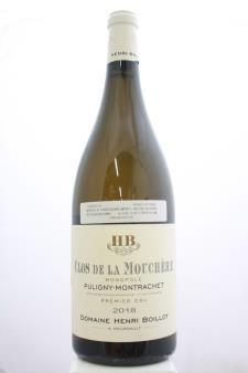 Henri Boillot (Domaine) Puligny Montrachet Clos de la Mouchère 2018