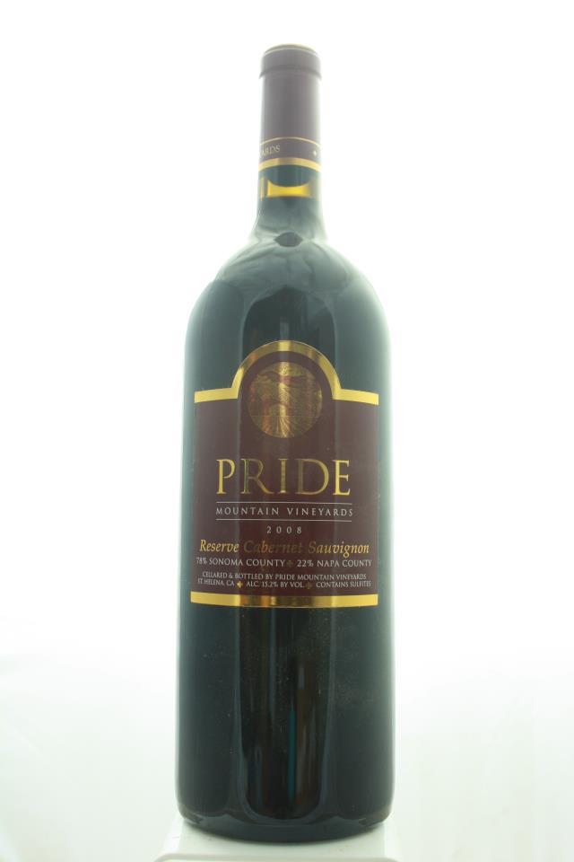 Pride Mountain Vineyards Cabernet Sauvignon Reserve Sonoma County / Napa County 2008