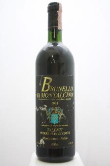 Talenti Brunello di Montalcino Pian di Conte 1993
