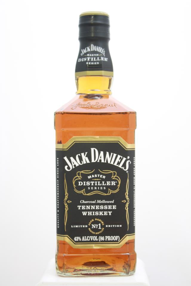 Jack Daniel's Charcoal Mellowed Tennessee Whiskey Master Distiller Series Limited Edition 1-3 Box Set NV